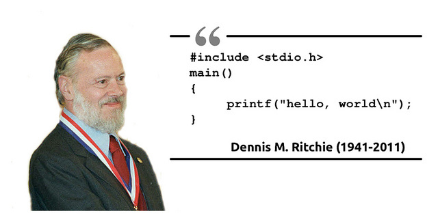 dennis ritchie the computer scientist Tech industry dennis ritchie, father of c programming language, dies in addition to c, the pioneering computer scientist made significant contributions to unix and received many awards honoring his work.